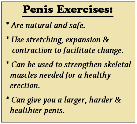 Exercises To Make Your Penis Bigger